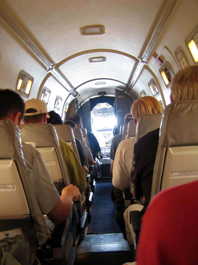 Beechcraft 1900d Airplane Cosy Interior Accommodations