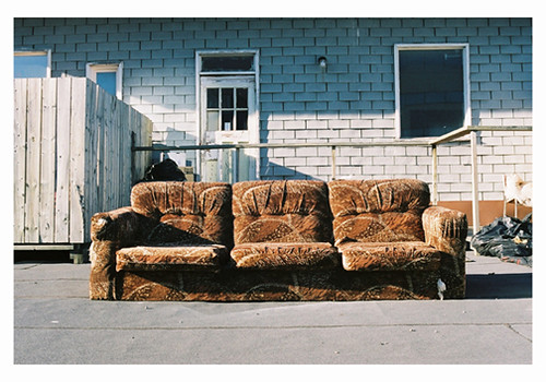 Toronto Urban Perspectives Walking Empty Couch Dirty R