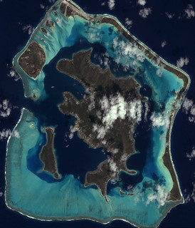 Bora Bora Satellite | by YellowPonny
