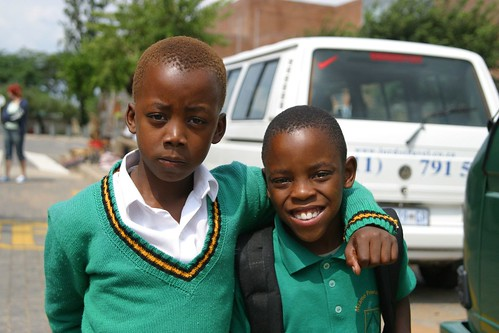 First day of school.   Soweto - Johannesburg, South Africa | by thomas_sly
