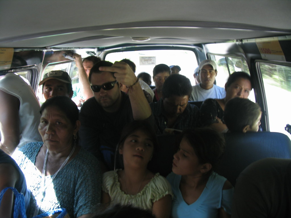 Ford Transit 12 Passenger Van >> 19 people in a 12 person Van | Johnny Mitchell | Flickr