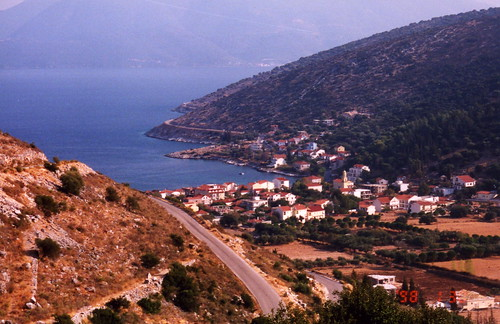 This is the town of Sami on the Greek Island of Kefalonia | by kjdrill
