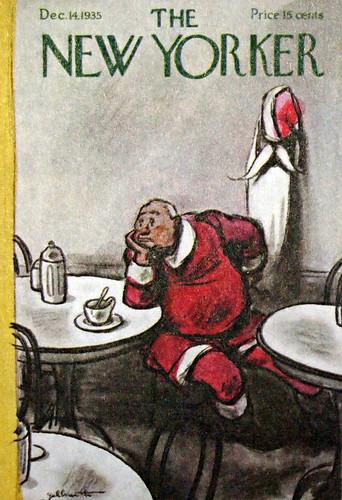 Santa at the diner