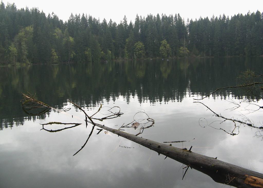 A morning of fishing at battle ground lake after four for Battle ground lake fishing