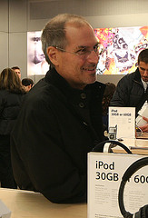 Exclusive [I think]: Steve Jobs visits Blighty! | by wernda0211