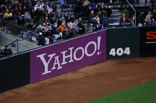 unfortunate placement of yahoo ad | by jkenning