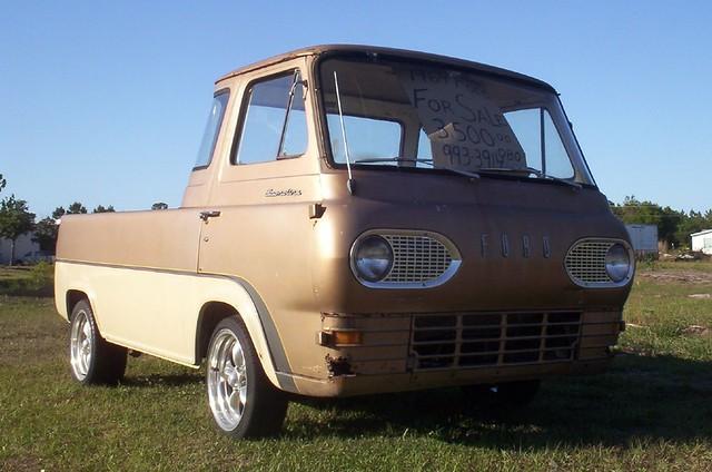 "1964 Ford van/truck | These ""half van"" trucks were pretty ..."