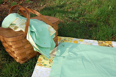Summer Greens - with napkins | by SouleMama