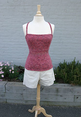 Artful Yarns Lace Accent Tank | by cinemaknits
