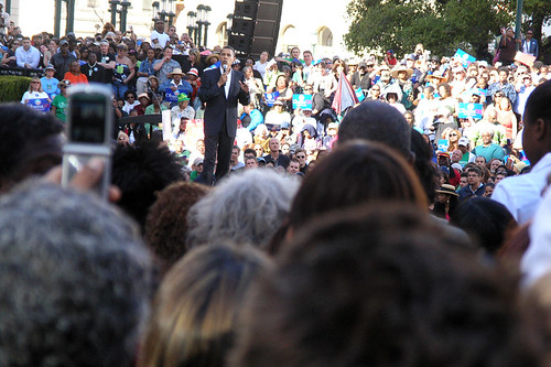 Barack Obama Rally in Oakland | by juicyrai