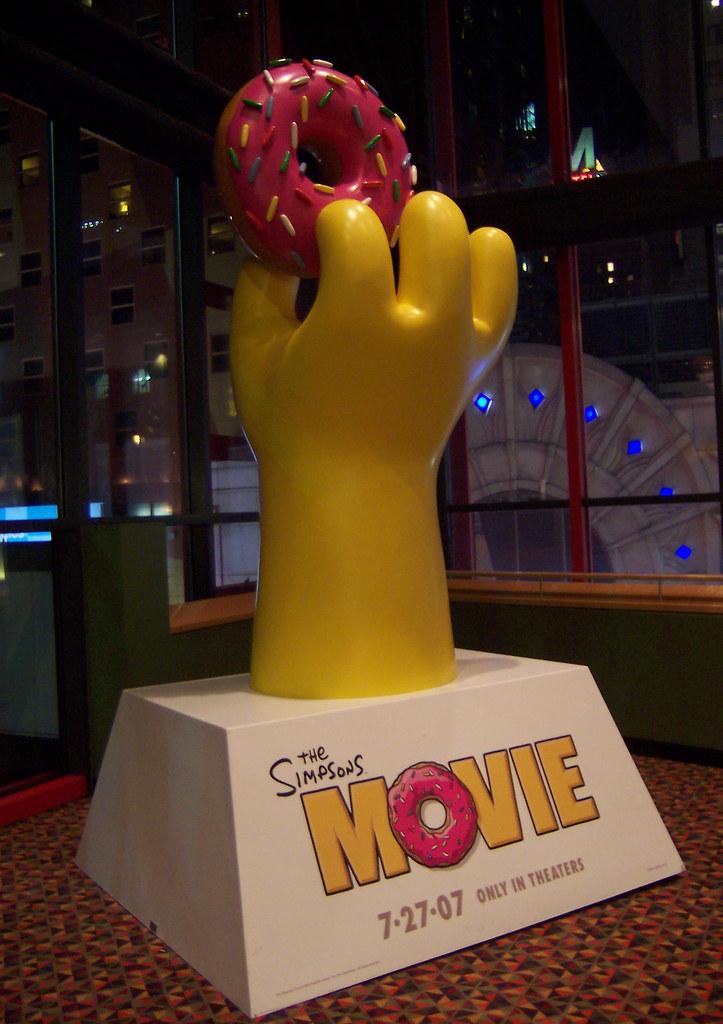 Simpsons Movie Standee L Joslyn Flickr