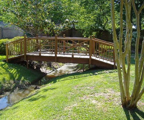 Backyard Bridge Bridge Built By My Husband And Son In A