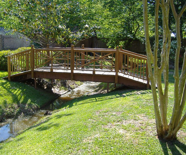 Bridge Built By My Husband And Son In A
