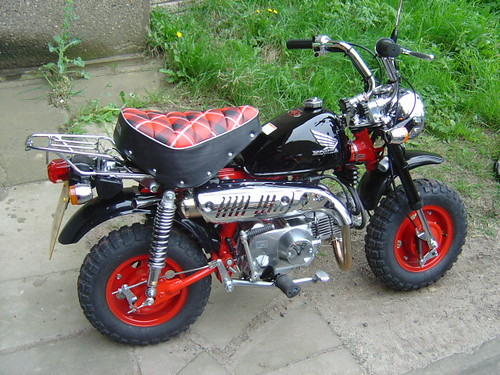 My 40th Anniversary Honda Monkey Perkins Src Monkey