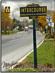 It's Intercourse, Pennsylvania
