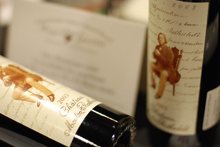 Chateau Mouton Rothschild 2003 | by philafoodie