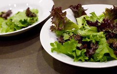 Salad greens two ways | by liza31337