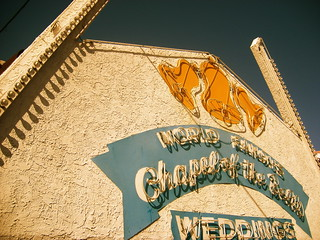 World Famous Chapel of the Bells Wedding, Las Vegas | by Sarah&Boston