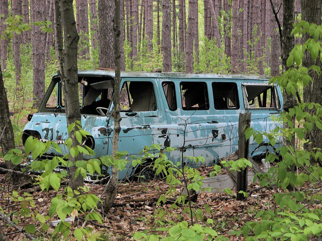 Abandoned In The Woods Near The Cottage You Never Know