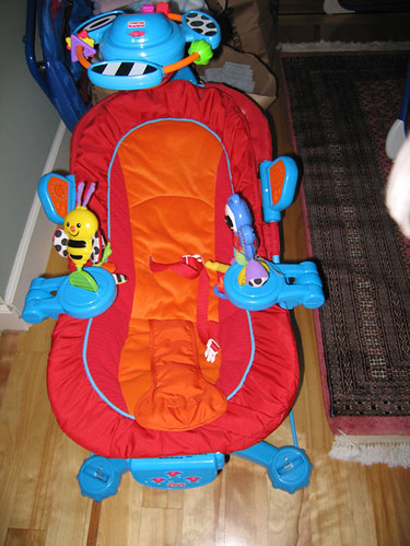 Bouncer Chair; Fisher Price - $15 | Bouncer; Fisher Price Se… | Flickr