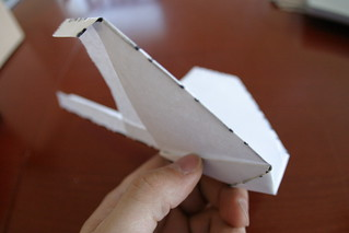 Sparrow Paper Airplane | by bre pettis