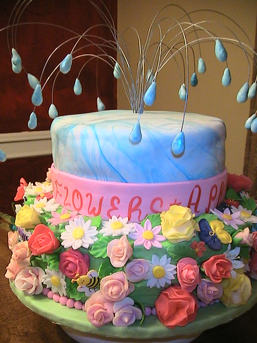 april showers bring may flowers for a baby shower the the
