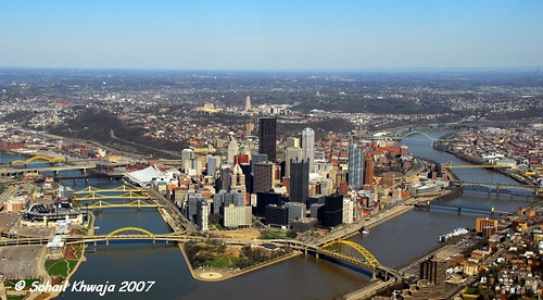 which three rivers meet in pittsburgh
