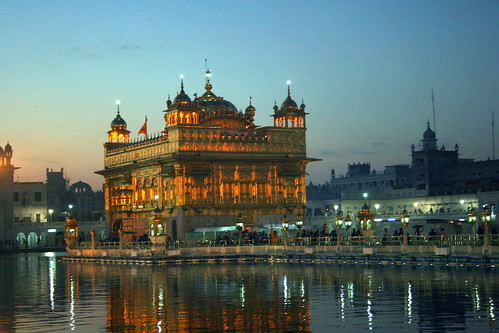 Golden Temple before Sunrise | by Manny Pabla