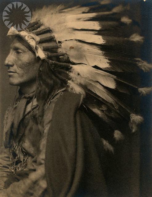 Portrait Of Native American Si Neg 2004 57857 Date Na