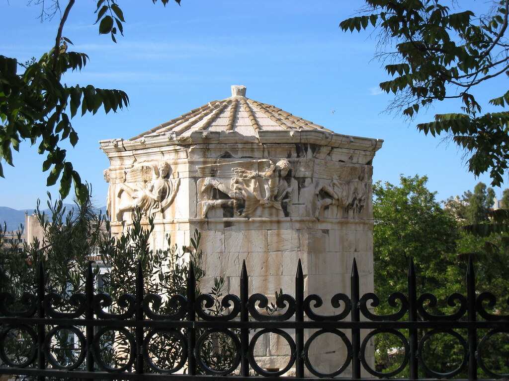 Roman Agora & The Tower of The Winds  The Syrian ...