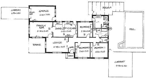 Corner block house plans house plans for Corner block house plans