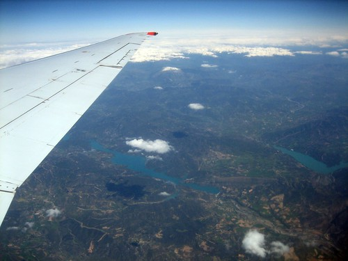 On the plane to Bilbao | by claumoho
