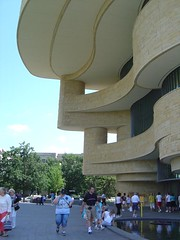 Flared facade, NMAI, Washington, DC | by Lorianne DiSabato