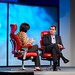 Kara Swisher and Peter Chernin