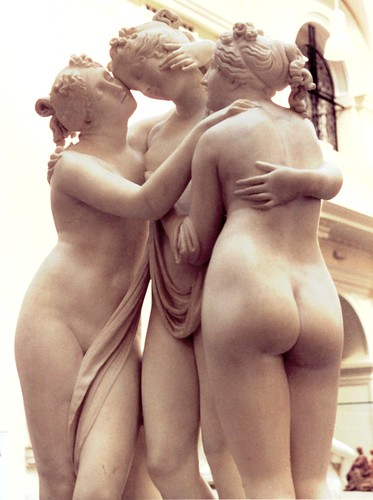 Canova's Three Graces at the V&A - front left view | by ketrin1407