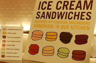 Ice Cream Sandwich Menu | by jslander