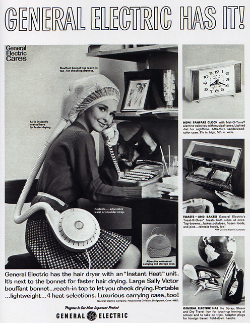 1960s Advertising - Magazine Ad - General Electric Portabl ...
