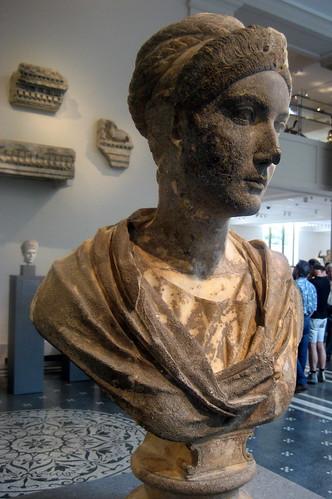 Nyc Metropolitan Museum Of Art Bust Of Empress Sabina
