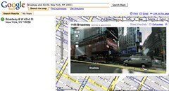 Yahoo Times Square ad in Google Maps | by Edward Vielmetti