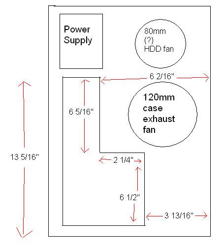 diagram of the back of my computer case john klimek flickr. Black Bedroom Furniture Sets. Home Design Ideas