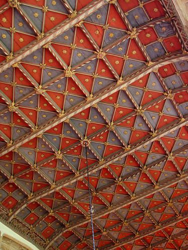 The medieval refectory ceiling, forde abbey, dorset | by archidave