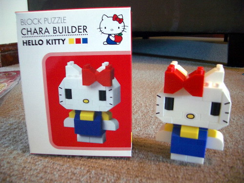 Hello kitty lego chara builder emily flickr - Lego hello kitty maison ...