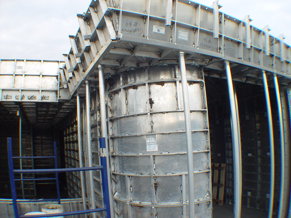 Concrete forms final inspection at wall ties forms for for Concrete log forms