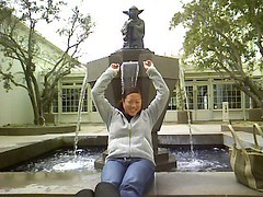 Me falling into Yoda Statue | by lil beee