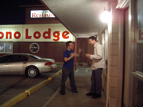Arguing at the Derrick Motor Inn | by Tweek