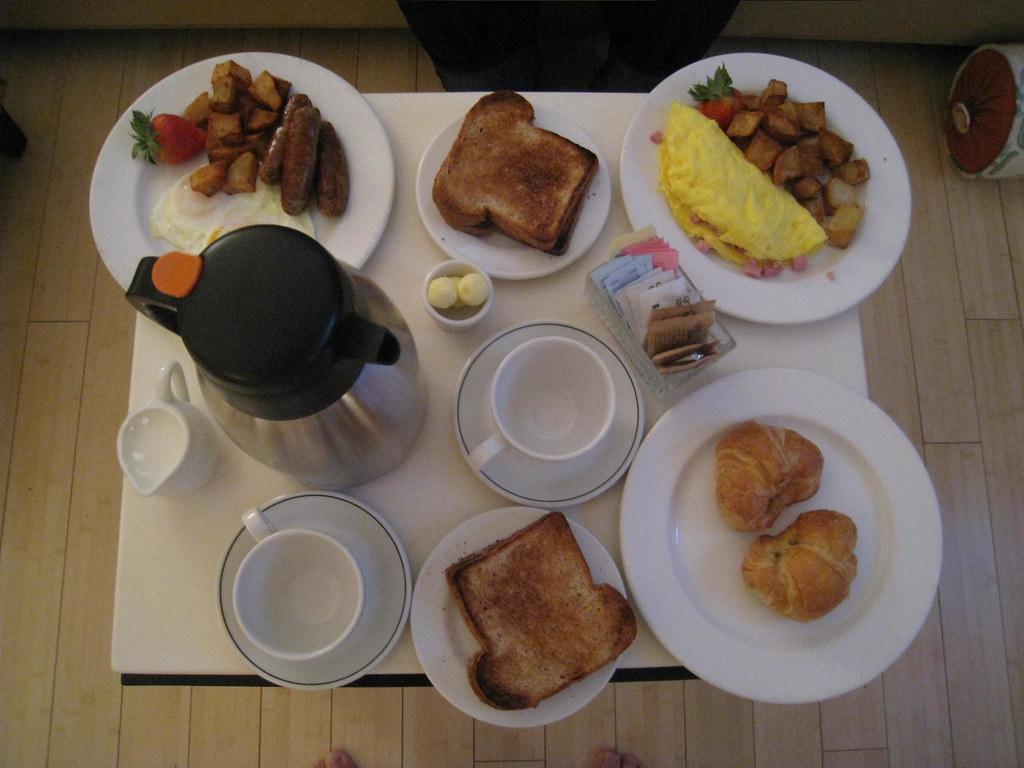 Room Service Breakfast Order Form