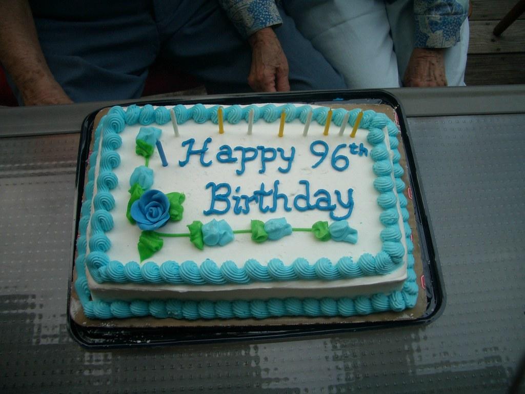 96th Birthday Cake Jeff Chin Flickr