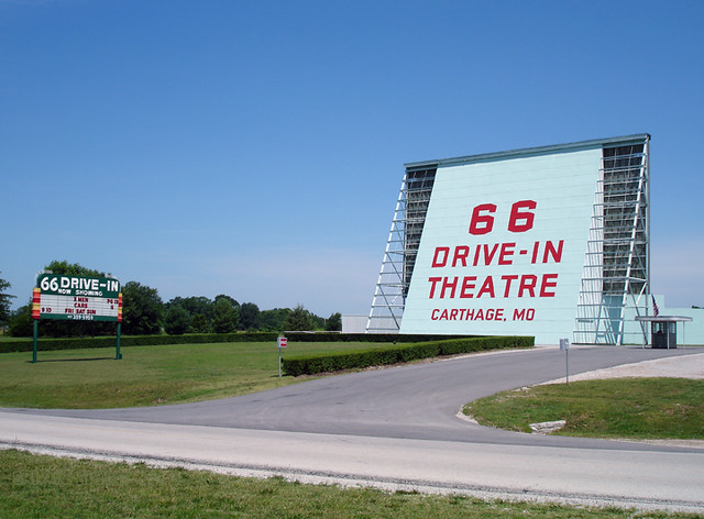 66 Drive-In Theater, Route 66, Carthage, MO | Flickr ...