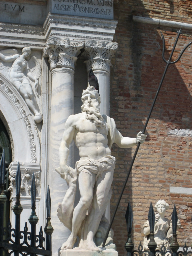King Poseidon Statue