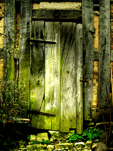 old door with interesting details and texture | by ♦ Peter & Ute Grahlmann ♦